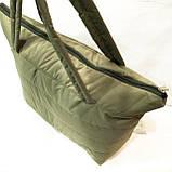 Дутые сумки под пуховик (каштан)32*34, фото 2