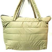 Дутые сумки под пуховик (хаки)32*34