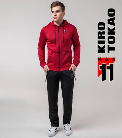 Весенний споривный костюм Киро Токао 492 красный-черный
