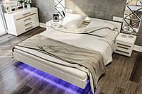 Спальня Бьянко кровать 1,6 м