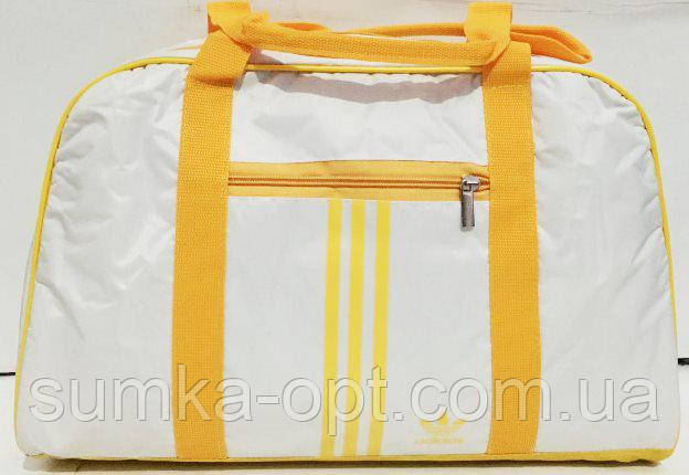 Сумки УНИВЕРСАЛЬНЫЕ для фитнеса Adidas (белый+желт)25*41