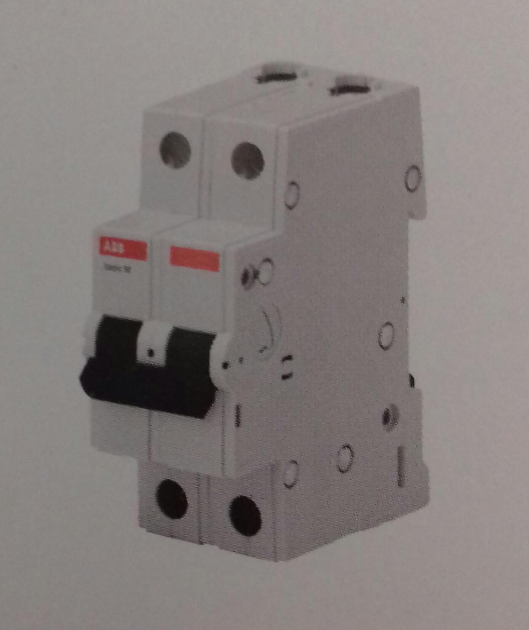 Автоматический выключатель АВВ 2р 16А, С, 4,5кА