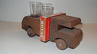 Минибар деревянный Машинка размер 18*11*6