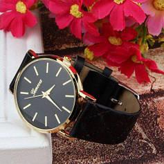 Часы женские Geneva чёрные и синие