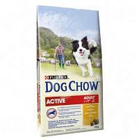 Dog Chow Active корм для активных взрослых собак (14 кг)