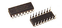 Т) микросхема 74HC595