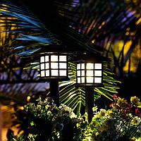 """Светильник садово-парковый на солнечной батарее """"домик"""" Lemanso"""