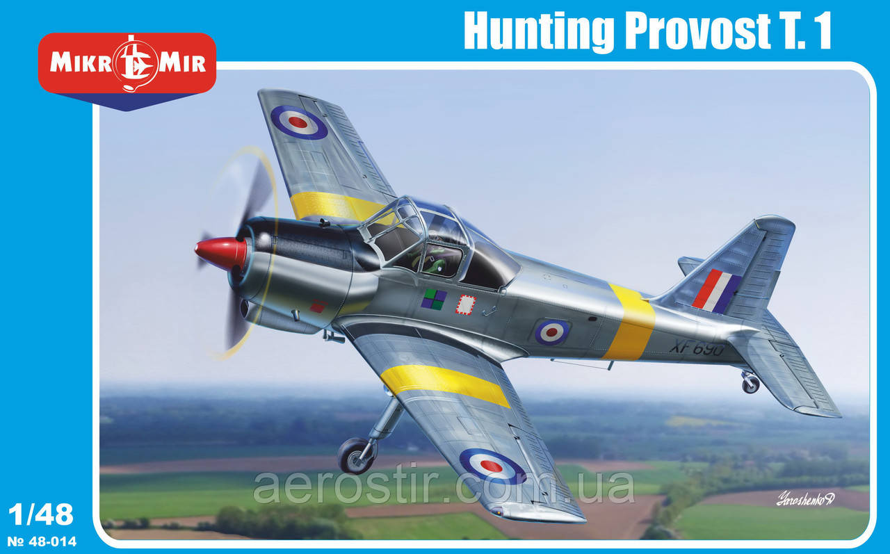 HUNTING Provost T.1 1/48 МикроМИР 48-014