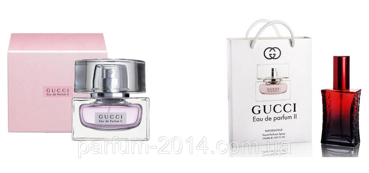 Gucci Eau de Parfum II 80 ml + подарочный набор Gucci Eau de Parfum II 50 ml  (реплика)