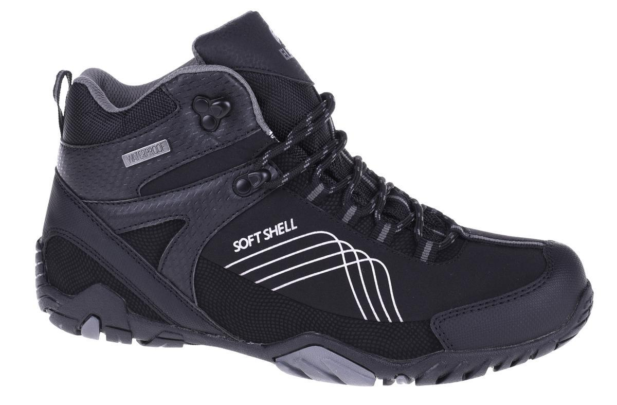 Ботинки Elbrus Mens Nash Mid WP Black/Gray