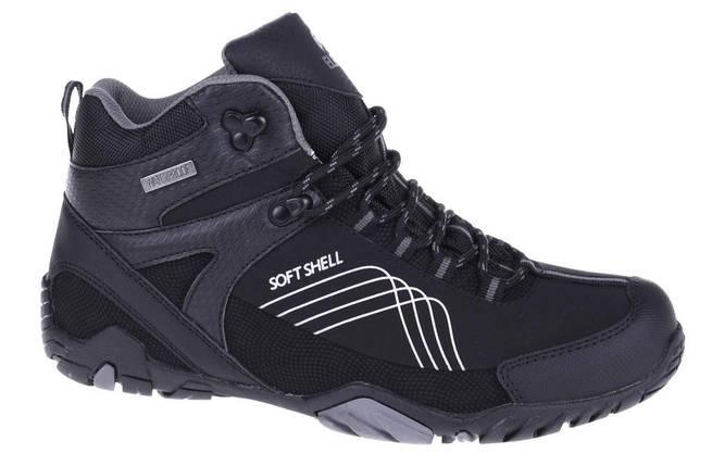 Ботинки Elbrus Mens Nash Mid WP Black/Gray, фото 2