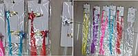 Аксессуары для волос CLG17178 6 видов,длина 40 см,в пакете