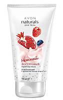 Йогуртовый освежающий скраб для тела с ароматом лесных ягод, Avon Naturals Body Care, Эйвон, 200мл, 49209