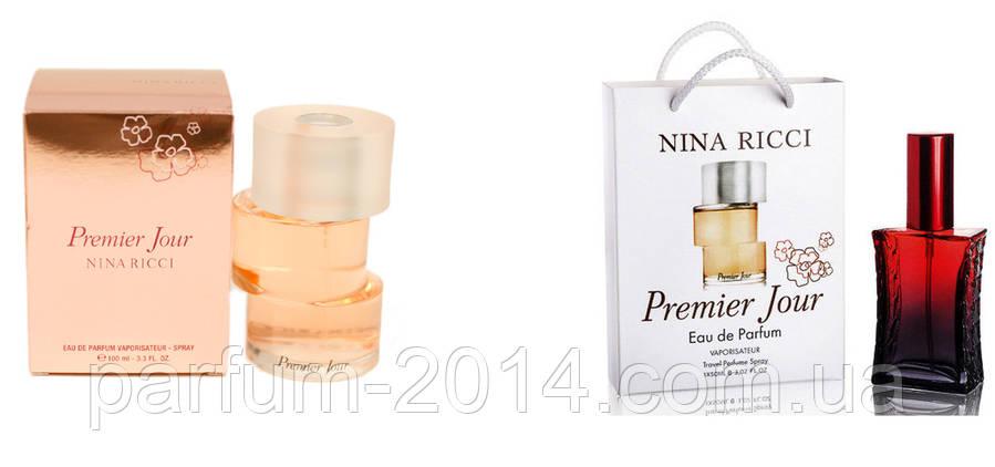 Nina Ricci Premier Jour 100 ml + подарочный набор Nina Ricci Premier Jour 50 ml  (реплика), фото 2