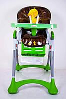 Детский стульчик для кормления DolcheMio HC-51 Duck зеленый