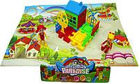 Домик DT8899-5 детская площадка, фигурки,домик, в пакете