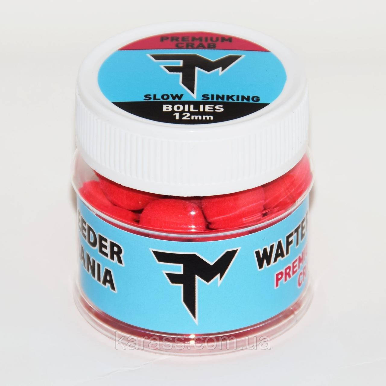 Feedermania Wafters Premium Crab 12mm