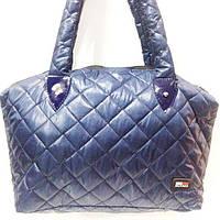 Стеганные сумки оптомTommy Hilfiger (син глянцевый)30*45