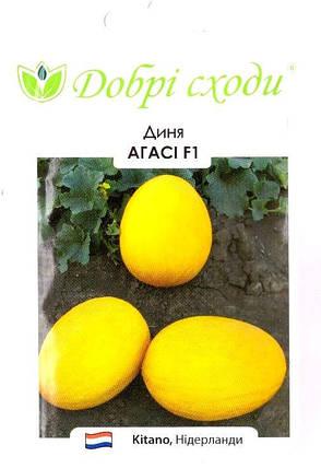 Семена дыни Агасси 5шт ТМ ДОБРІ СХОДИ, фото 2