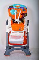 Детский стульчик для кормления DolcheMio HC-51 Elephant оранжевый