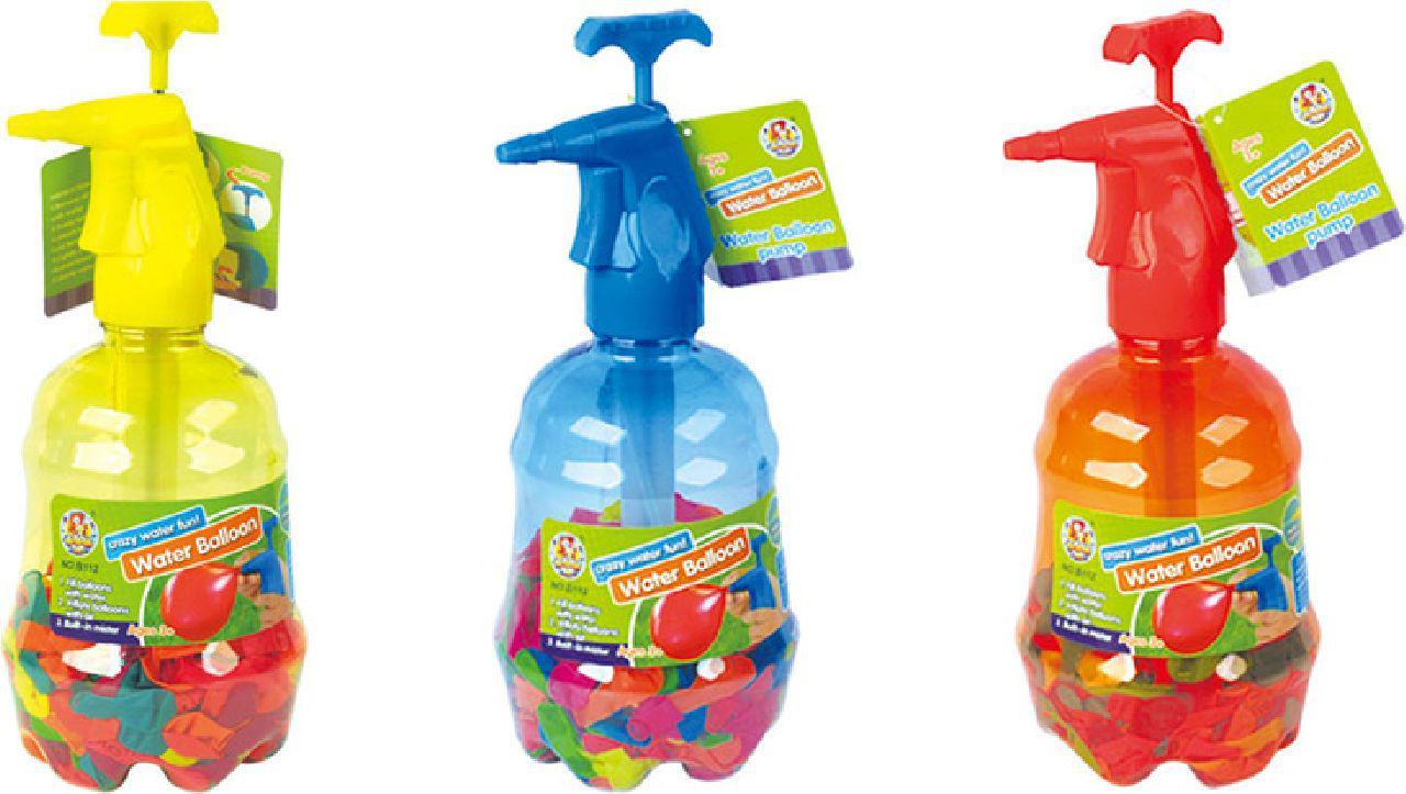 """Игра """"Водянные бомбочки"""" B124 шарики+ водяной насос, в бутылке см - BGToys в Одессе"""