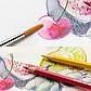Подарочный набор акварельных карандашей Faber-Castell A. Durer 48 цв. + аксессуары в деревянном пенале, 117506, фото 6