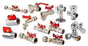 Краны, запорная, регулирующая арматура.компоненты систем отопления и обвязки котлов