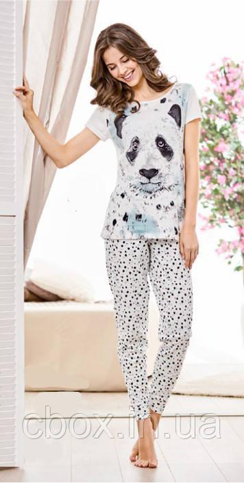 Пижама женская с принтом панда 1be7ec9c5ade4