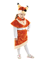Маскарадный костюм меховой Белка (размер S)