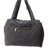 Женские стеганные сумки Chanel дешево опт (синий)26*50, фото 3