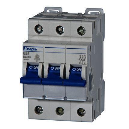 Автоматический выключатель Doepke DLS 6i B25-3 (тип B, 3пол., 25 А, 10 кА), dp09916115