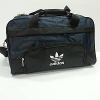 11a5a02d1f75 Сумка спортивная , дорожная 126 - 3 adidas , черный/синий , большая.