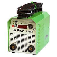 Сварочный инвертор АТОМ I-180D с фурнитурой AB и кабелями КГ16 3м/2м