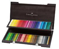 Набор акварельных карандашей 120 цветов Faber-Castell Albrecht Durer в деревянном пенале, 117513
