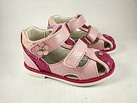 Обувь для девочек, детские босоножки ортопедические розовые Tom.m