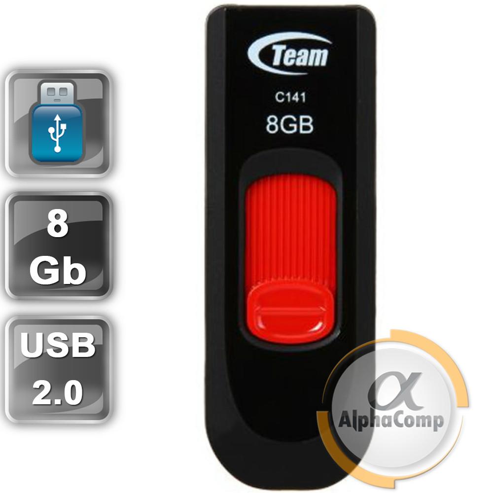 USB Flash 8Gb Team C141 USB2.0 (TC1418GR01) Red
