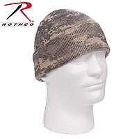 Шапка с заворотом камуфляж цифровой ACU Digital Camouflage.