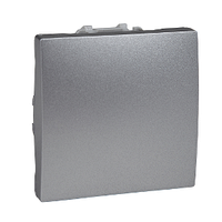 Выключатель кнопочный Алюминий Unica Schneider, MGU3.206.30