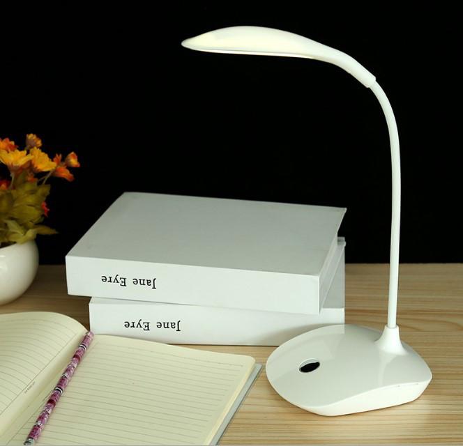 Лампа настольная аккумуляторная LED белая