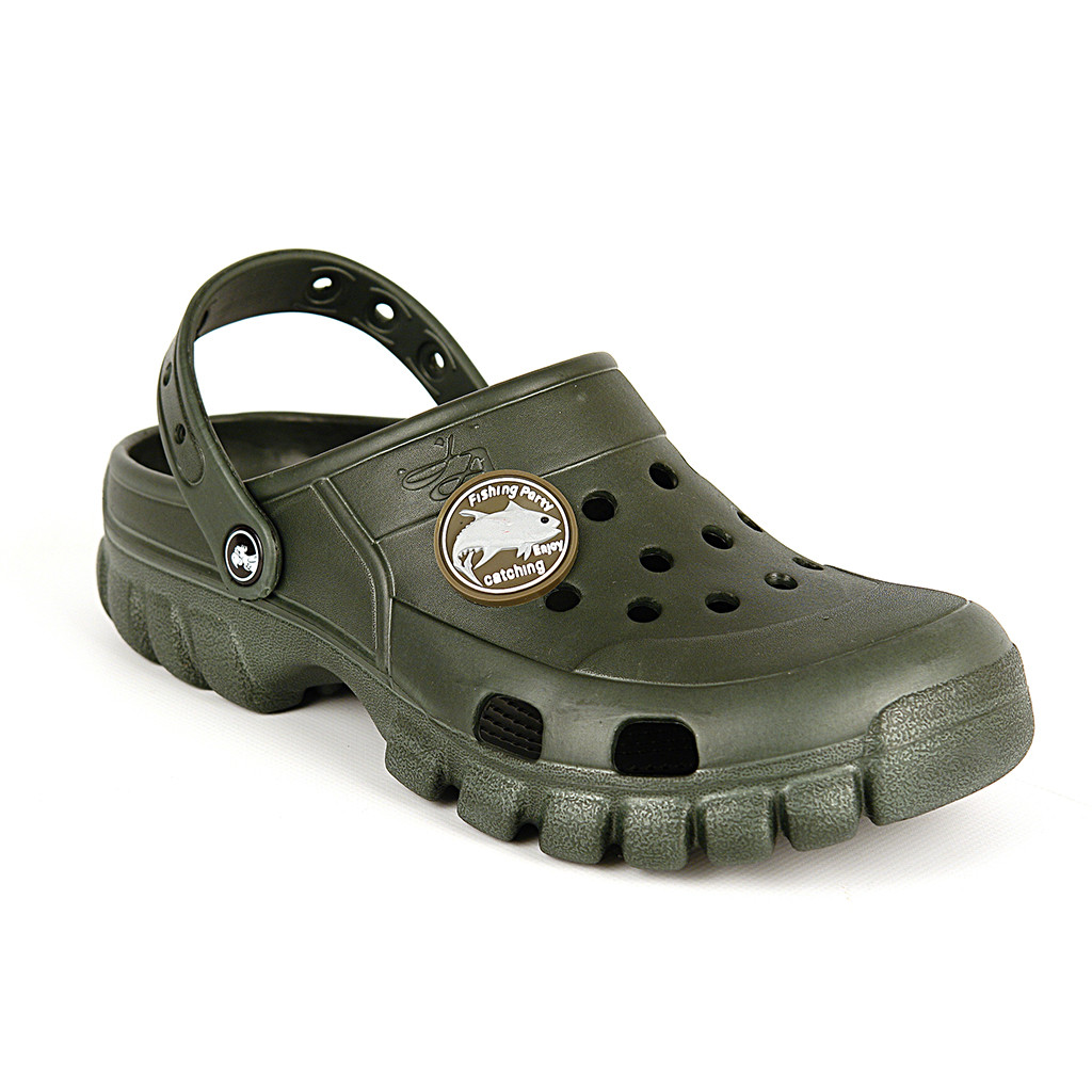 Легкие кроксы, р-ры 41, 42, 43, 44, 45. Хаки(темно-зеленые) сабо, рабочая обувь, шлепанцы
