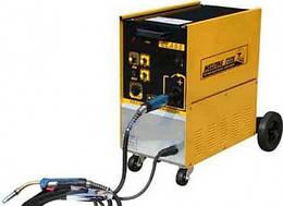 Сварочный полуавтомат инверторный 220В, 12А, сталь 0.6-1.2, алюм. 0.8-1.2, медь 0.6-1.2 G.I.KRAFT GI13114-220