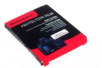 Захист LCD екрана Backpacker для Fujifilm X-A1, X-A2, X-M1, X30, X-T10, X-T20 - загартоване скло