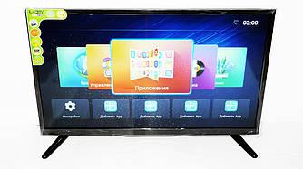 "LCD LED Телевизор JPE 32"" Smart TV, WiFi, 1Gb Ram, 4Gb Rom, T2, USB/SD, HDMI, VGA, Android"