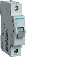 Автоматичний вимикач 1P 6kA B-13A 1M код MB113A, HAGER