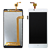 Оригинальный дисплей (модуль) + тачскрин (сенсор) для Leagoo M5 (белый цвет)