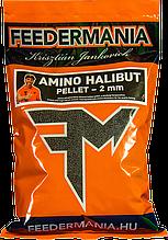 Прикормка пеллетная FEEDERMANIA Amino Halibut pellet 2mm