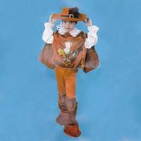 Маскарадный костюм Мушкетер красный (размер М)