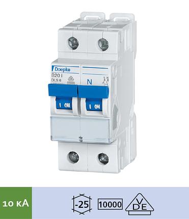 Автоматический выключатель Doepke DLS 6i B6-1+N (тип B, 1+Nпол., 6 А, 10 кА), dp09916049