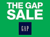 Большая распродажа на сайте GAP. Скидка на все -40%