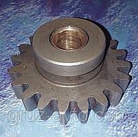 Шестерня пневмокомпрессора Д-245 усиленная, ширина зуба-14мм. Z-20 (зил-Бычок, Маз-Зубренок, Газ-3309)